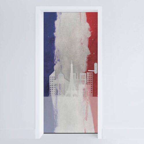 Doerfolie Frankrig 215x100cm