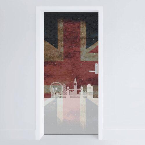 Doerfolie Storbritannien 215x100cm