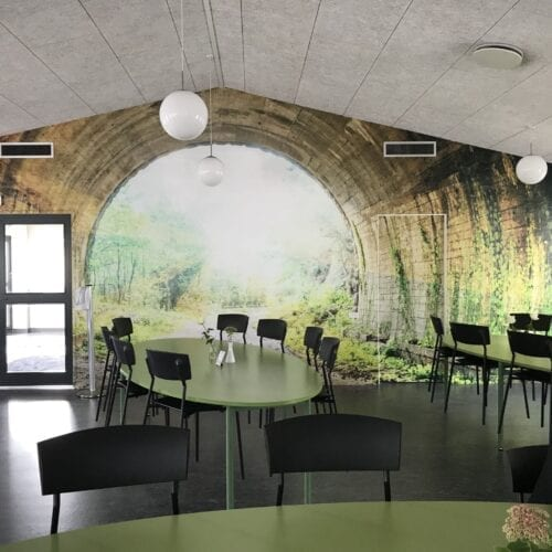 Dekoration på væg