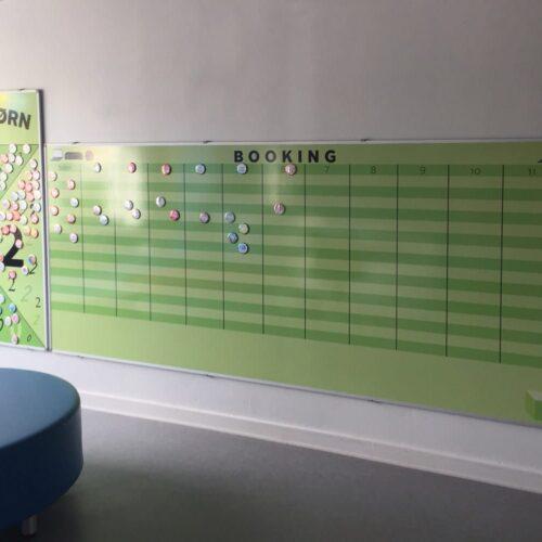 Whiteboard med eget design