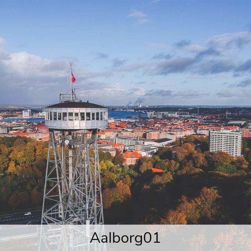 Vægramme - Aalborg-motiver-0