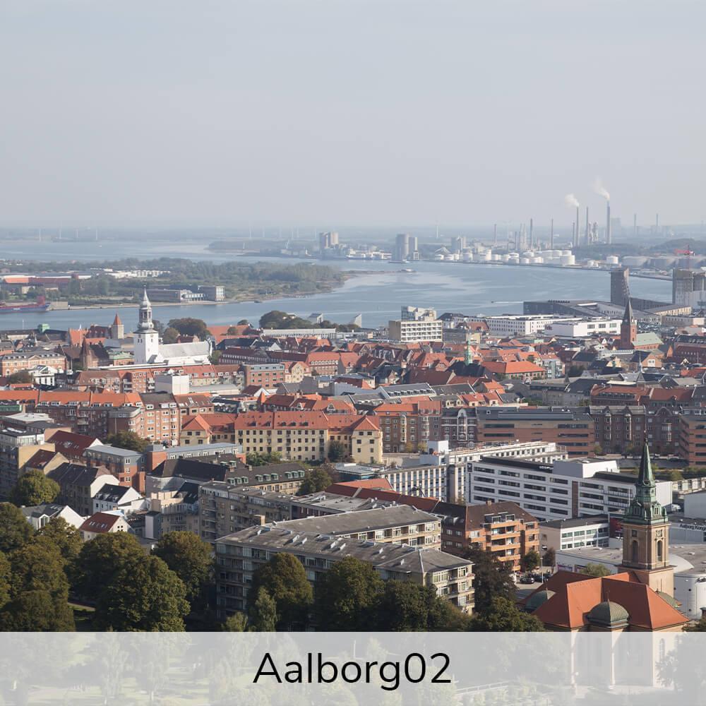 Vægramme - Aalborg-motiver-27435