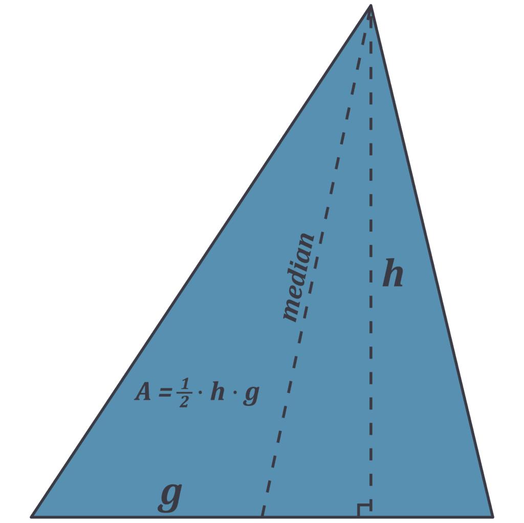 areal rumfang trekant 550x550 g