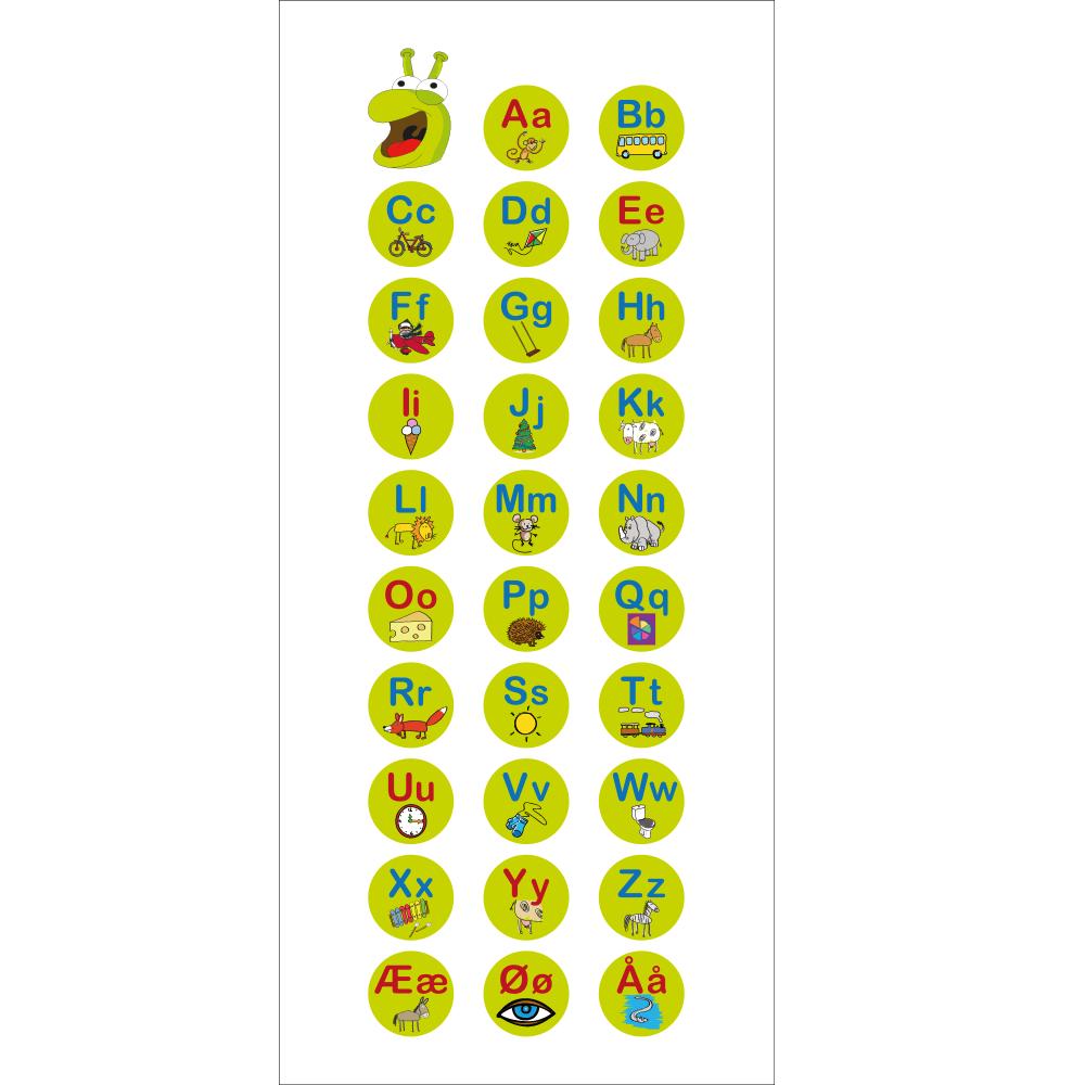Bogstavormen - Dørfolie-0