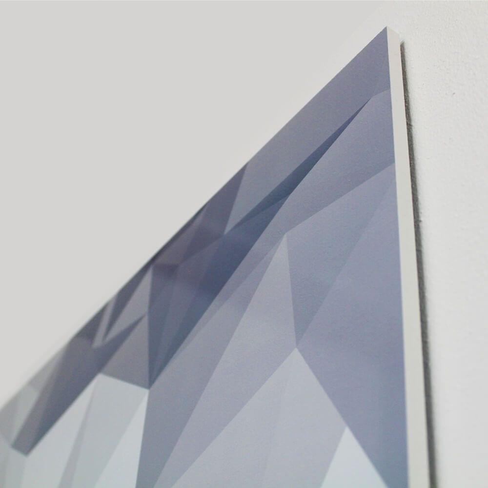 Chameleon whiteboard med print - Rammeløst whiteboard med dit eget print-21276