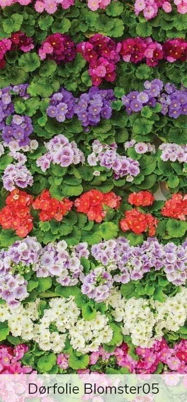 Dørfolie - Blomster-27926