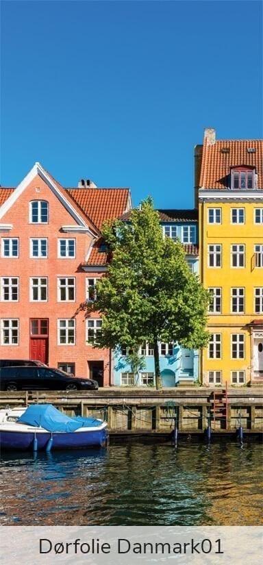 Dørfolie - Motiver fra Danmark-27790
