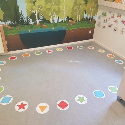 Floor shapes