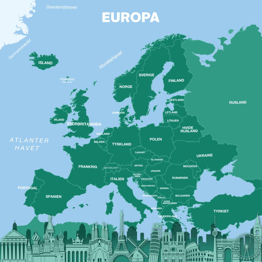 europakort skyline 1000x1000 g