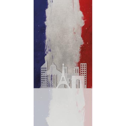 Lande - Dørfolie - Frankrig-0