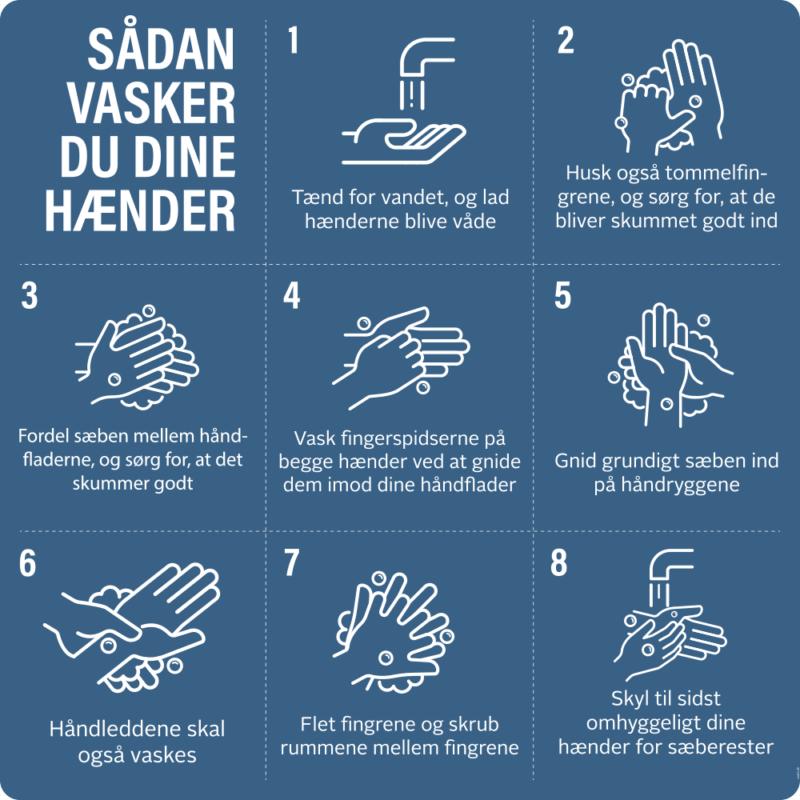 Vaske hænder-guide - Dørfolie, pakke med 5 stk.-0