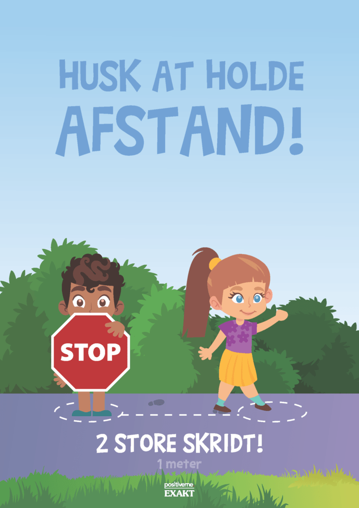 hold afstand 1meter 297x210 d