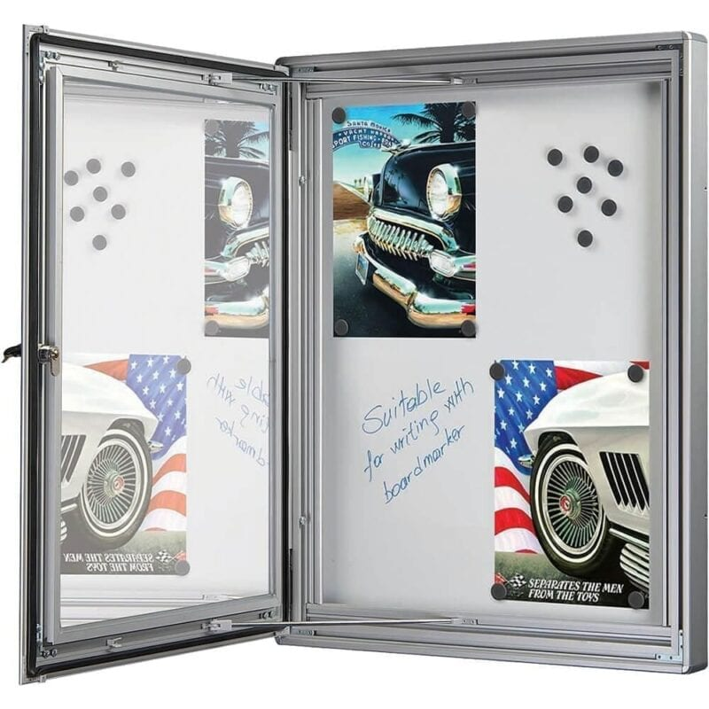 Infobox magnetic m/ lås-28754