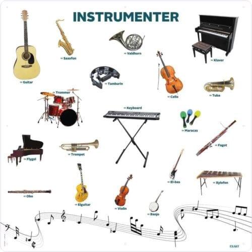 Instrumenter - Læringstavle-0