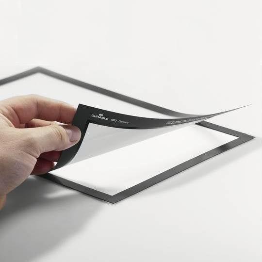 Selvklæbende magnetrammer, A4 - Pakke med 10 stk.-22144