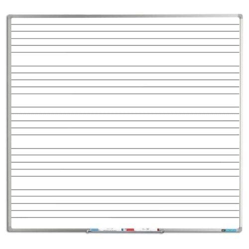 Whiteboard med nodelinjer-0
