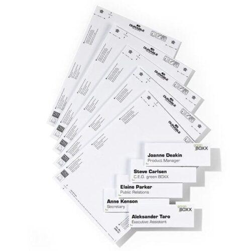 Printbare ark til krystalskilte - Pakke med 10 stk.-0