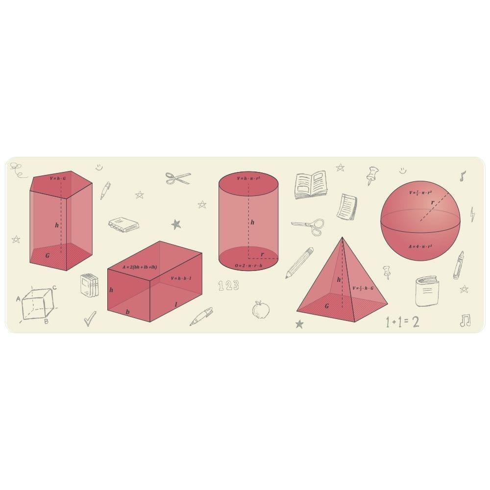 Geometriske figurer med mål-0