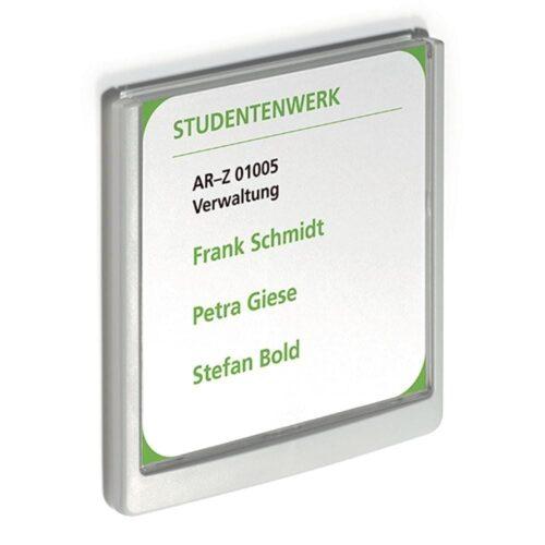 Akrylskilt - 14,9 x 14,85 cm-0
