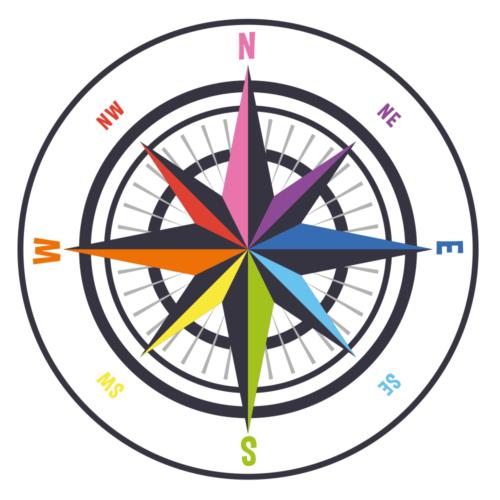 Kompas - Gulvfolie-0