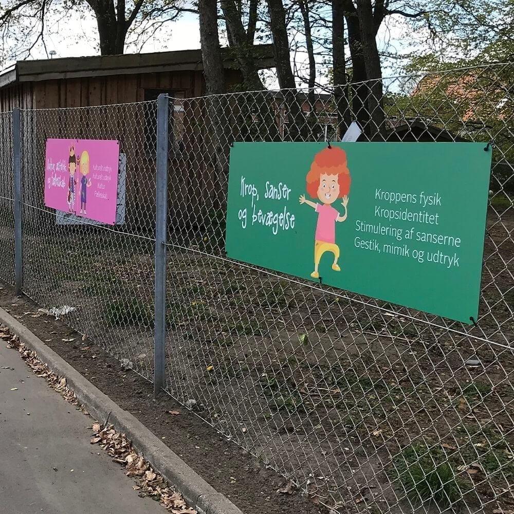 Læreplanstemaer - Skilteplade, 6 stk.-25565