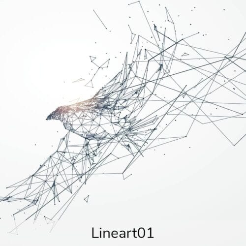 Vægramme - Line art-0