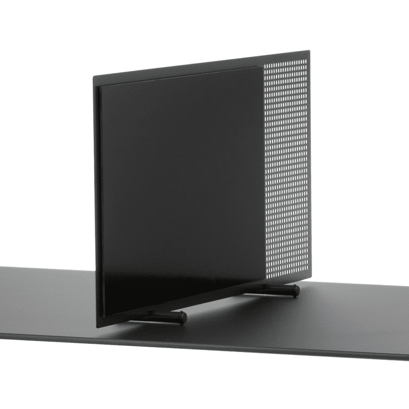 Flytbar borddeler med glastavle-28417