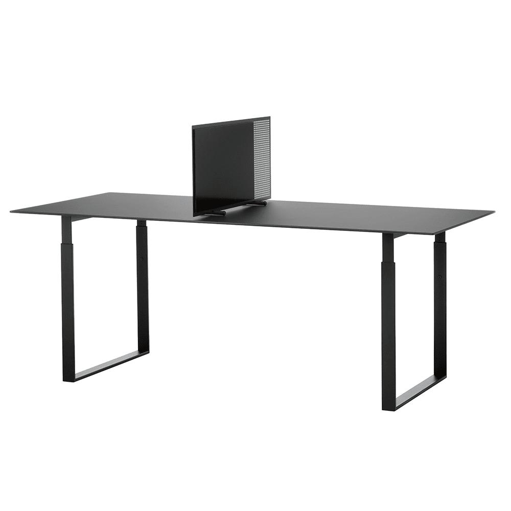 Flytbar borddeler med glastavle-28416