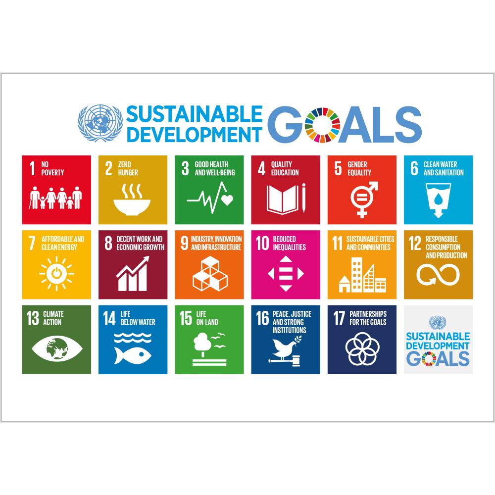 Sustainable Development Goals - 17 Verdensmål-0