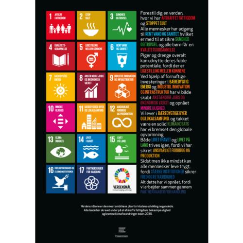 Poster C - 17 Verdensmål-0