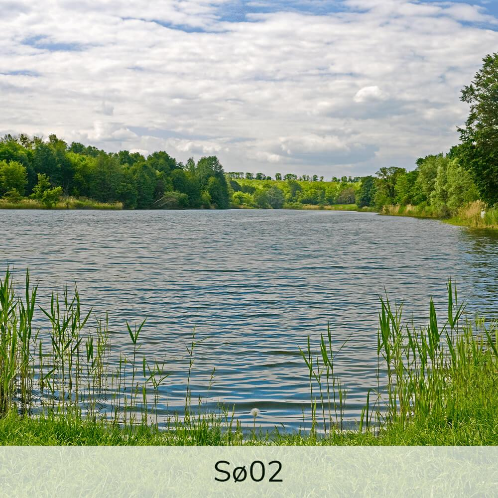 Vægramme - Sø-motiver-28642