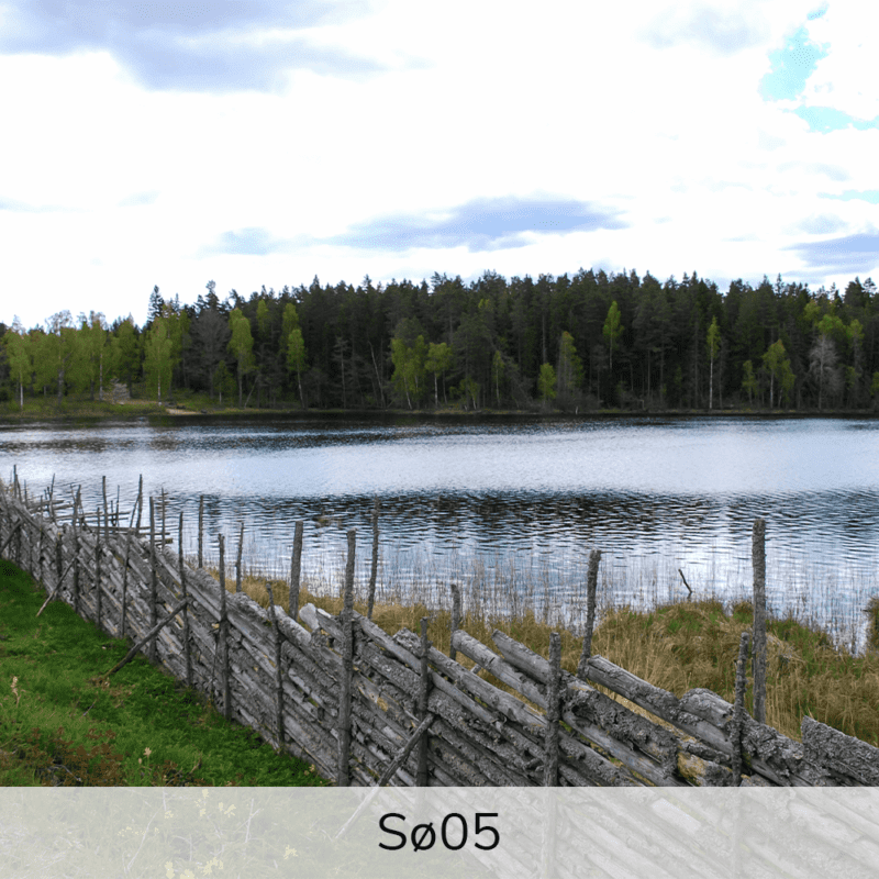 Vægramme - Sø-motiver-27363