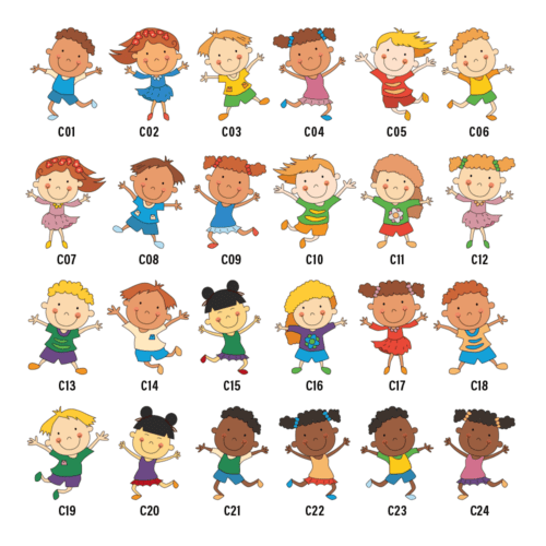 Sjove børn - Hegnsfigurer-0